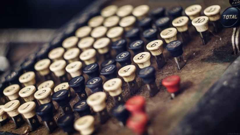 antique banking blur business